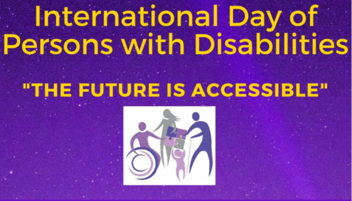 In blog post disability