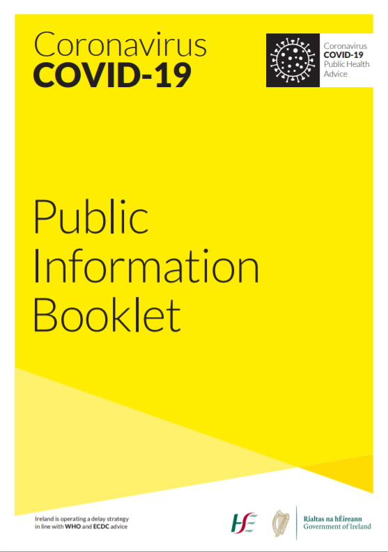Public info booklet cover