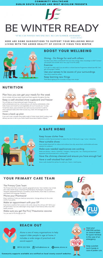 HSE Be Ready Infographic