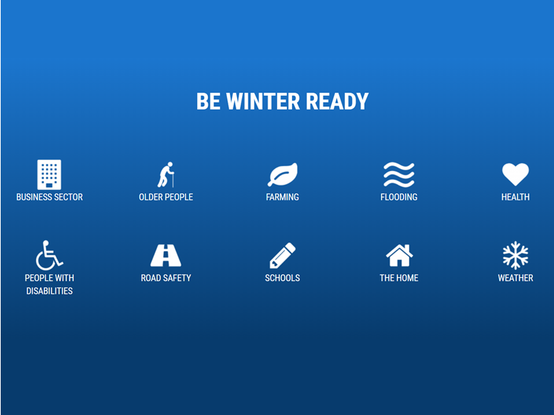 Be Winter Ready Blog Post Website