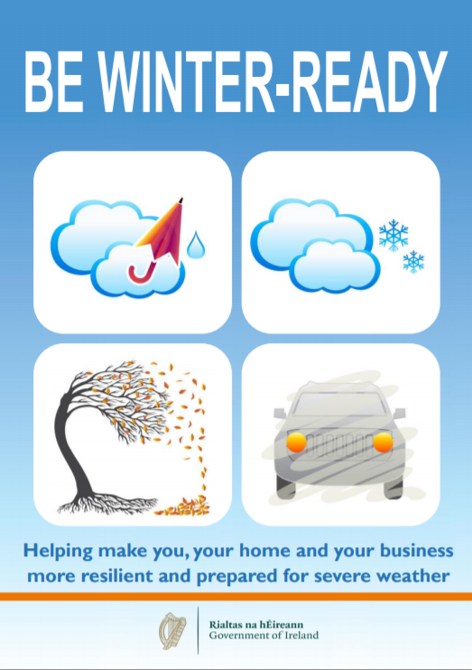 Be Winter Ready Booklet Front Page