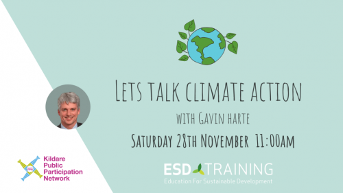 Lets Talk Climate Action Workshop Poster